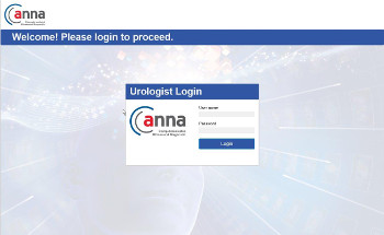 Urologen Login Maske ANNAcTRUS Prostatakrebs Diagnostk